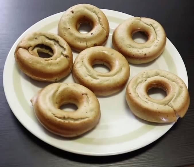 donuts saludables de avena